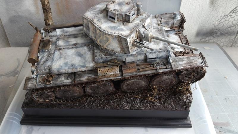 Panzer 38(T) Ausf.E/F - 1/16 - PANDA HOBBY. mise en boue  - Page 13 20160739