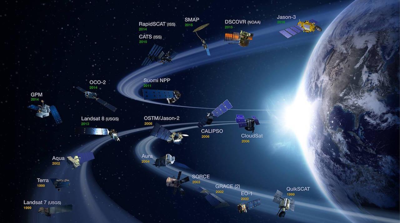 SATELLITES   NASA   -   ASTRONOMIE   -   HydroLAB 13340311
