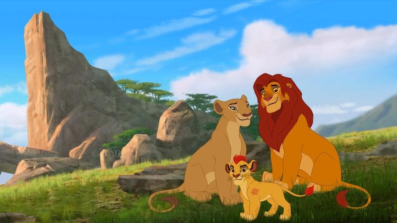 montage La garde du roi lion Videof10