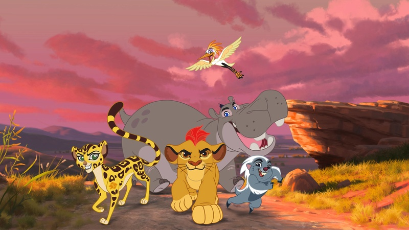 montage La garde du roi lion Videof11