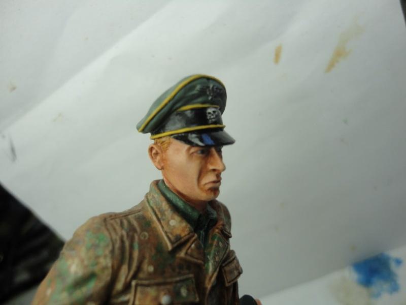 Officier de cavalerie SS WWII - 120 MM - VERLINDEN   ( fini mis en galerie ) - Page 4 Dsc00914