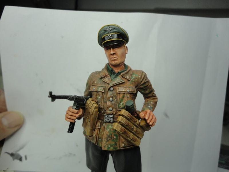 Officier de cavalerie SS WWII - 120 MM - VERLINDEN   ( fini mis en galerie ) - Page 4 Dsc00917