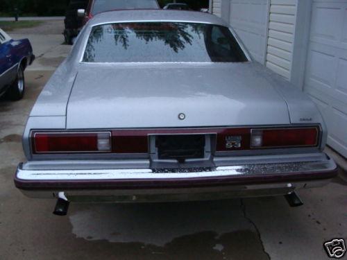 Rear Bumper1975 Laguna 75_45410