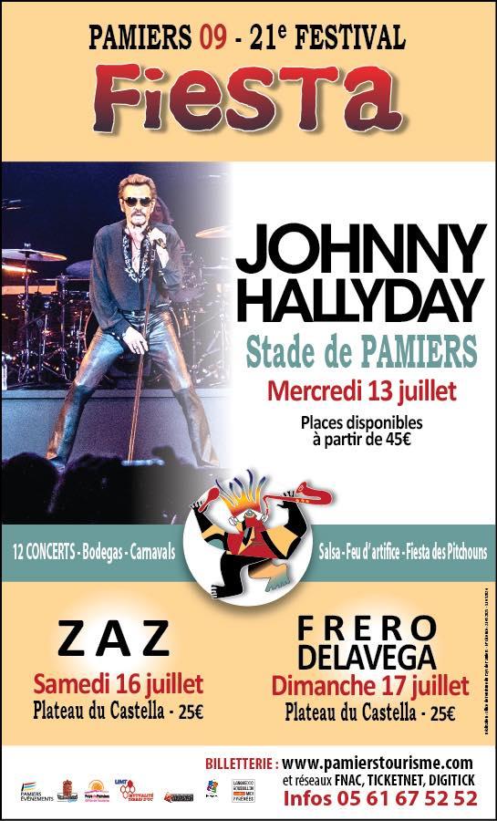 Johnny à Pamiers le 13 juillet Pamier10