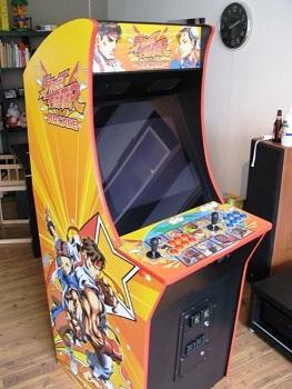 Superbe borne d'arcade SF faites maison! Borne-10