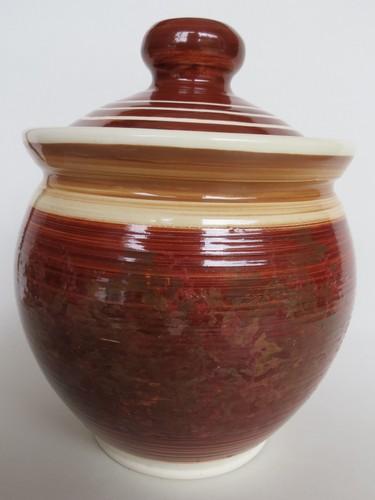 Steenstra CL jar with lid... $3 03-ste10