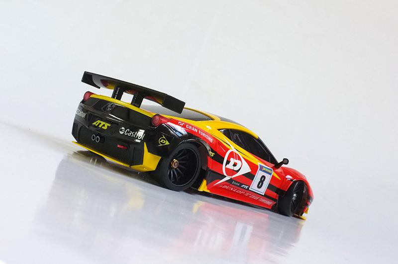 """Ferrari F458 """"Dunlop"""" 00210"""