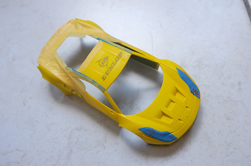 tuto peinture carrosserie Mini Z 00910