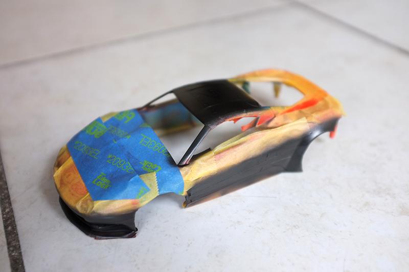 tuto peinture carrosserie Mini Z 01110