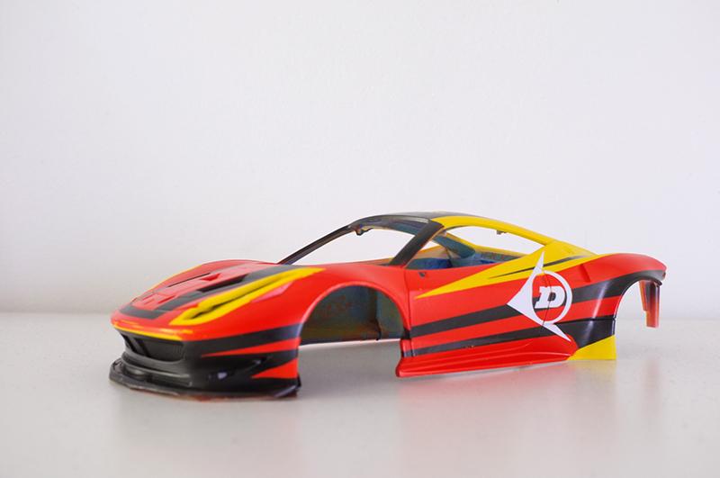 tuto peinture carrosserie Mini Z 01210