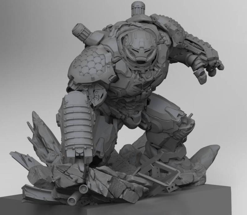Premium collectibles : Hulkbuster** Image103