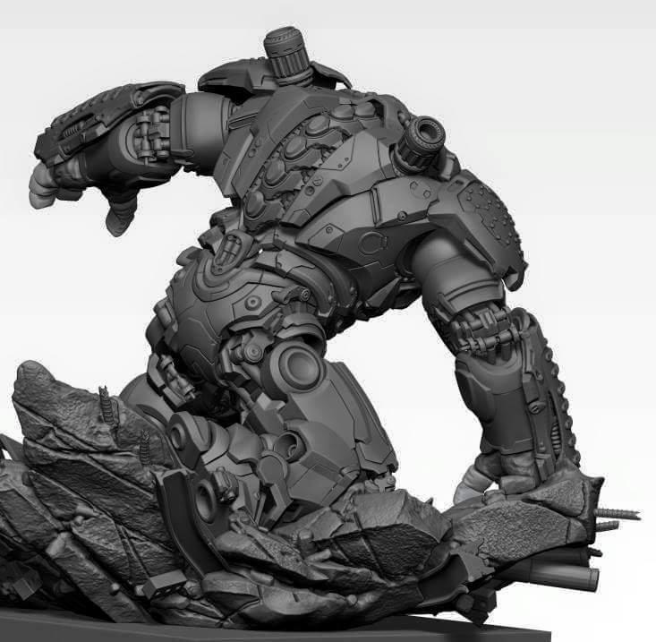 Premium collectibles : Hulkbuster** Image257