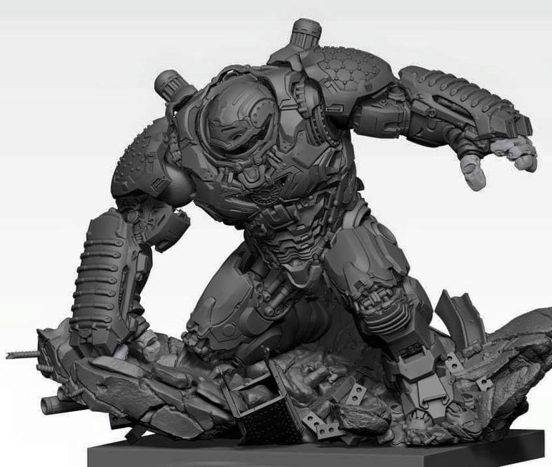 Premium collectibles : Hulkbuster** Image259