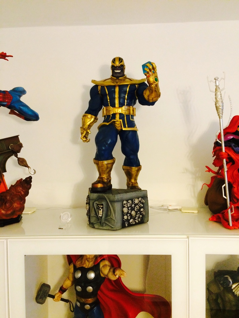 collection marvel2017 : arrivee dr doom hcg wolverine pf spiderman hot toys Image264
