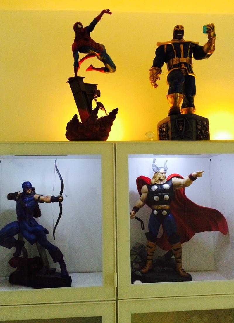 collection marvel2017 : arrivee dr doom hcg wolverine pf spiderman hot toys Image267
