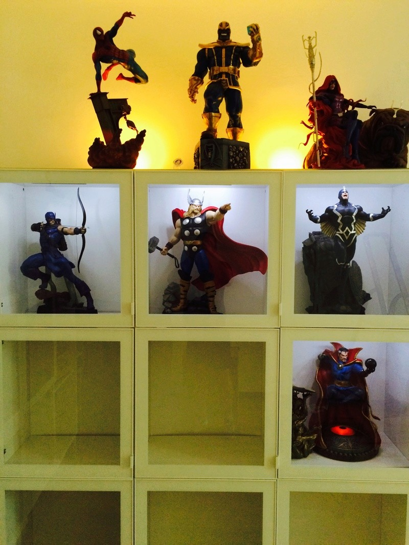 collection marvel2017 : arrivee dr doom hcg wolverine pf spiderman hot toys Image268