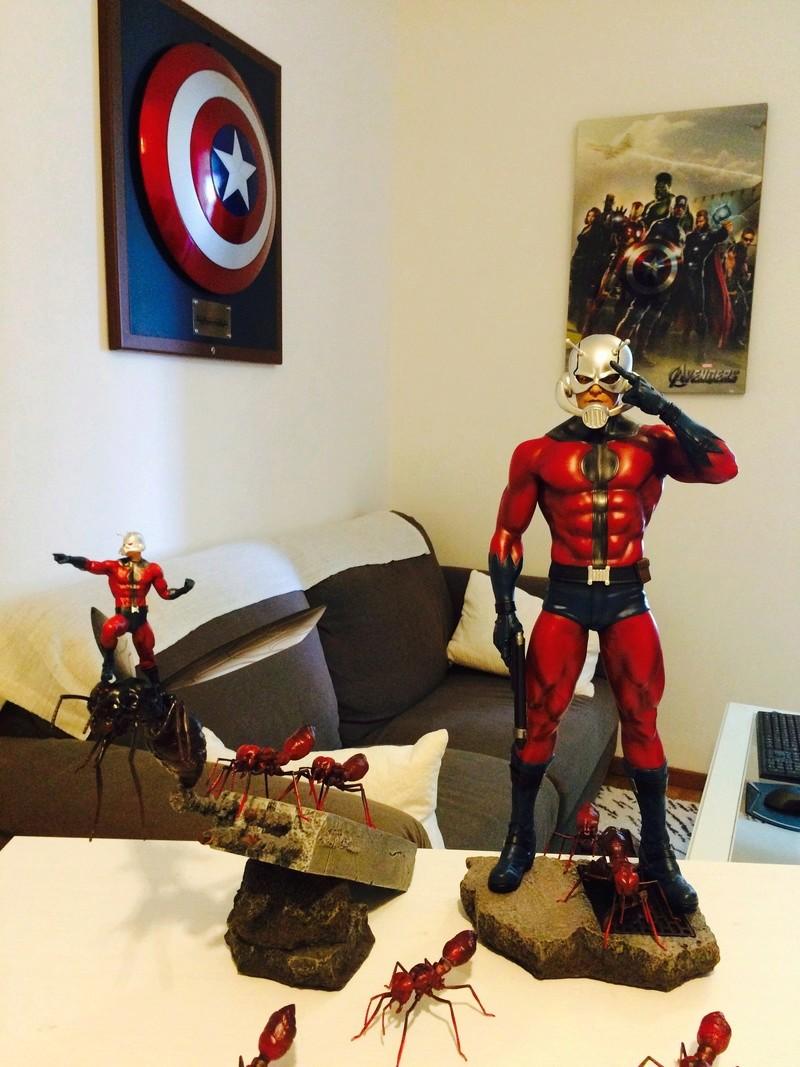 collection marvel2017 : arrivee dr doom hcg wolverine pf spiderman hot toys Image302
