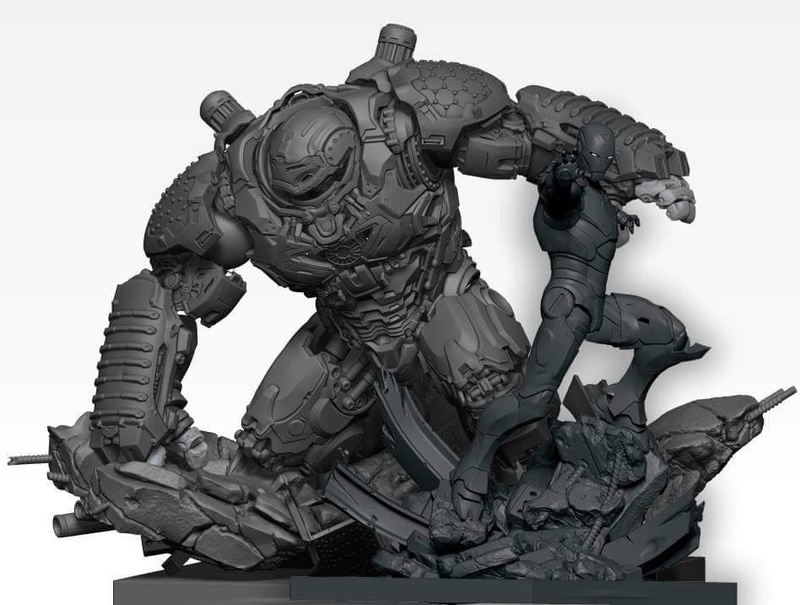 Premium collectibles : Hulkbuster** Image334