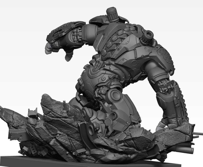 Premium collectibles : Hulkbuster** Image338