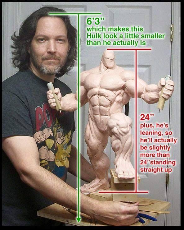 Premium Collectibles : Planet Hulk / King Hulk** Image79