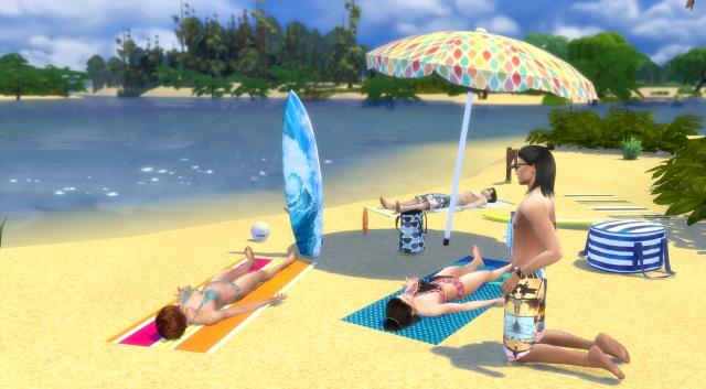 [Fiche] Emmener vos Sims et leur matériel à la plage grâce à trois mods: Beach mod, Life is a Beach Mod, Packing Crate Mod Image_11