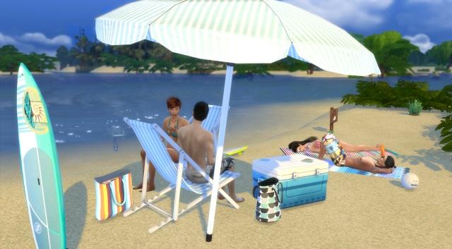 [Fiche] Emmener vos Sims et leur matériel à la plage grâce à trois mods: Beach mod, Life is a Beach Mod, Packing Crate Mod Image_12