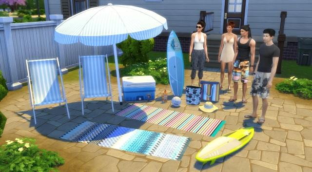 [Fiche] Emmener vos Sims et leur matériel à la plage grâce à trois mods: Beach mod, Life is a Beach Mod, Packing Crate Mod Image_13