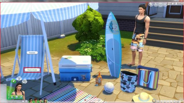 [Fiche] Emmener vos Sims et leur matériel à la plage grâce à trois mods: Beach mod, Life is a Beach Mod, Packing Crate Mod Image_16
