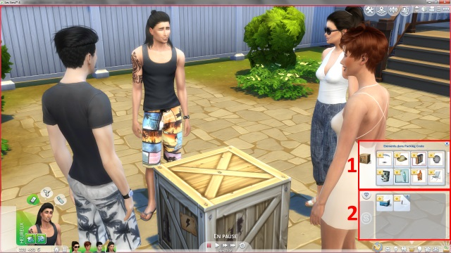 [Fiche] Emmener vos Sims et leur matériel à la plage grâce à trois mods: Beach mod, Life is a Beach Mod, Packing Crate Mod Image_18