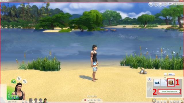 [Fiche] Emmener vos Sims et leur matériel à la plage grâce à trois mods: Beach mod, Life is a Beach Mod, Packing Crate Mod Image_21
