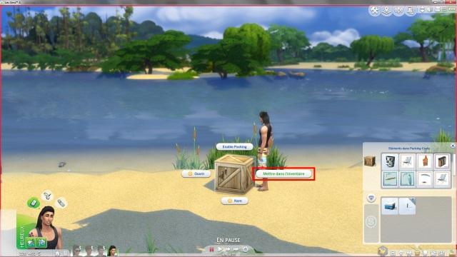[Fiche] Emmener vos Sims et leur matériel à la plage grâce à trois mods: Beach mod, Life is a Beach Mod, Packing Crate Mod Image_23