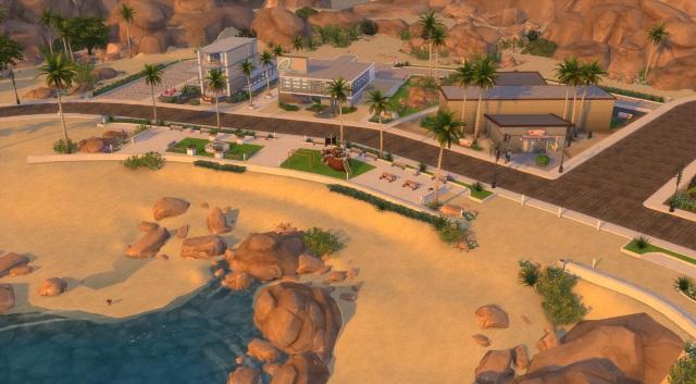 [Fiche] Emmener vos Sims et leur matériel à la plage grâce à trois mods: Beach mod, Life is a Beach Mod, Packing Crate Mod Oasis_10