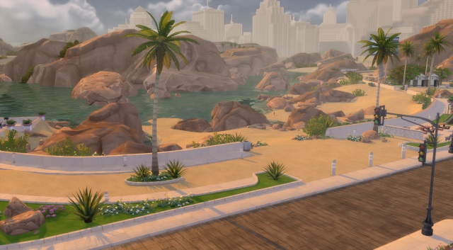 [Fiche] Emmener vos Sims et leur matériel à la plage grâce à trois mods: Beach mod, Life is a Beach Mod, Packing Crate Mod Oasis_11
