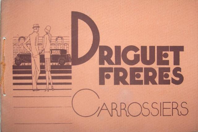 Carrosseries DRIGUET FRERES Paris Drigue10
