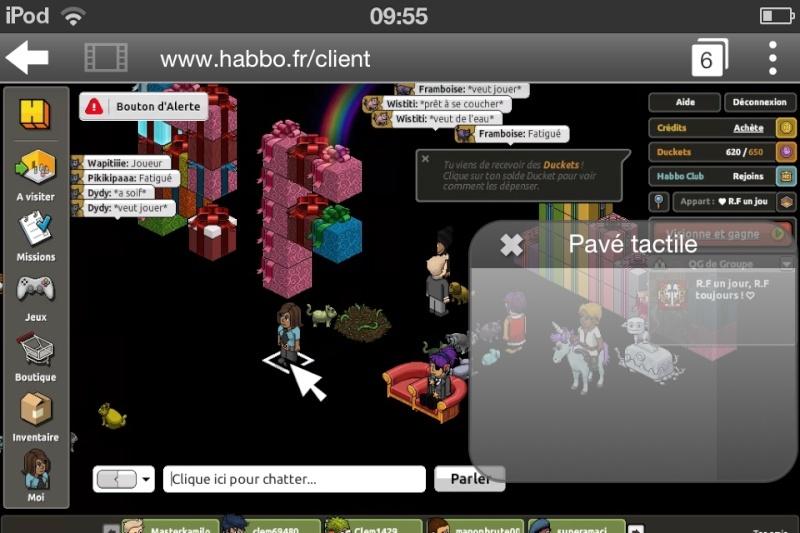 Comment jouer à habbo sur mobile ? B611c510