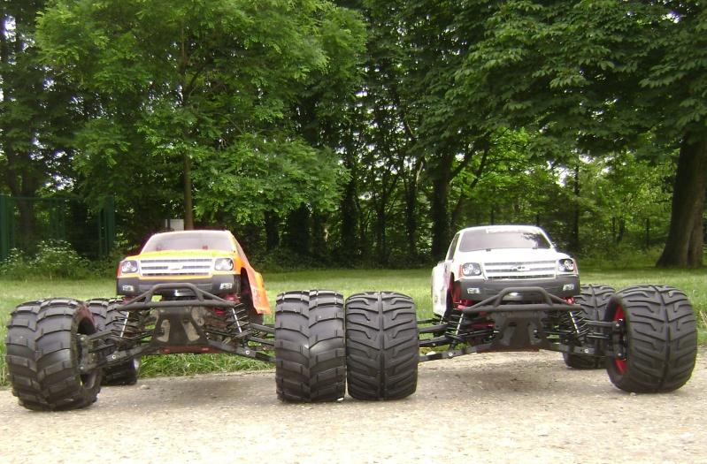 Les Monsters truck de Trankilou & Trankilette - Losi LST  XXL 2E - Page 6 09_06_18