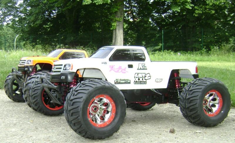 Les Monsters truck de Trankilou & Trankilette - Losi LST  XXL 2E - Page 6 09_06_21