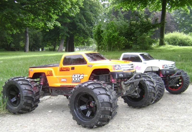 Les Monsters truck de Trankilou & Trankilette - Losi LST  XXL 2E - Page 6 09_06_22