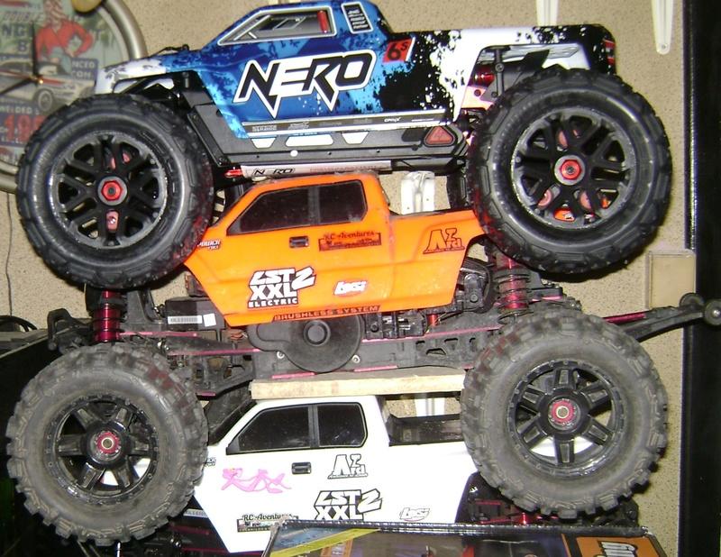 Arrma Monster Truck Nero BLX EDC /  Fazon & Big Rock de Trankilou&Trankilette 27_07_11