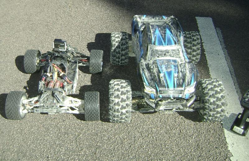Arrma Monster Truck Nero BLX EDC /  Fazon & Big Rock de Trankilou&Trankilette - Page 2 Tof_0740