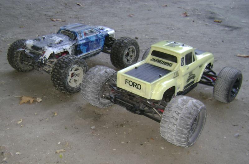 Arrma Monster Truck Nero BLX EDC /  Fazon & Big Rock de Trankilou&Trankilette - Page 4 Tof_1619