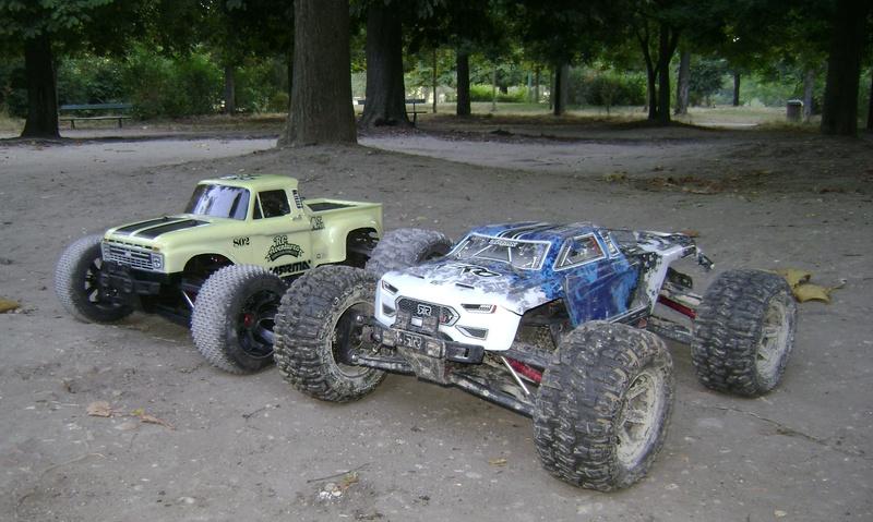 Arrma Monster Truck Nero BLX EDC /  Fazon & Big Rock de Trankilou&Trankilette - Page 4 Tof_1620