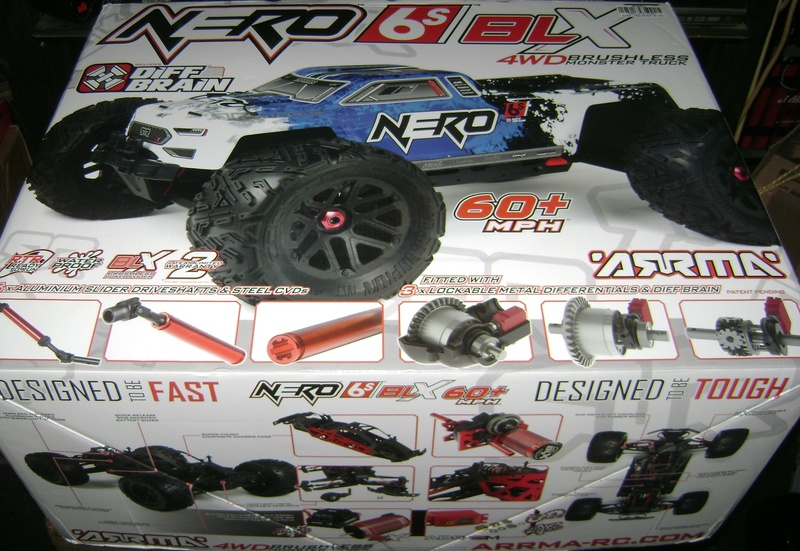 Arrma Monster Truck Nero BLX EDC /  Fazon & Big Rock de Trankilou&Trankilette Tof_2714