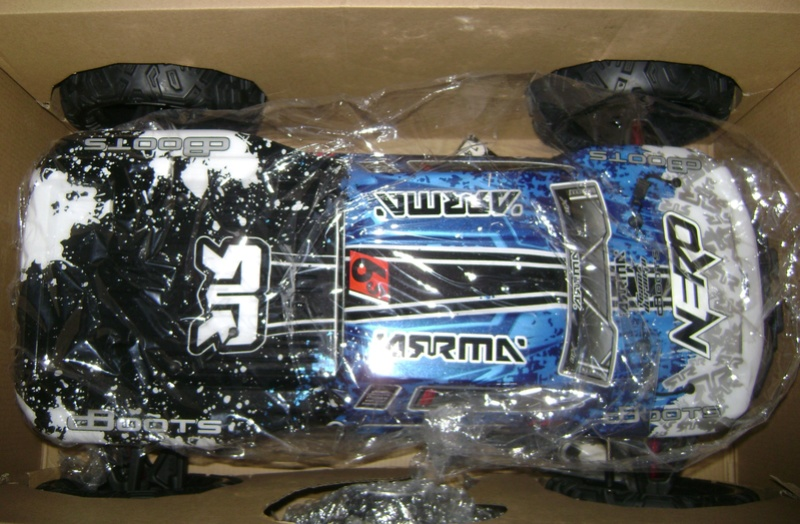 Arrma Monster Truck Nero BLX EDC /  Fazon & Big Rock de Trankilou&Trankilette Tof_2717