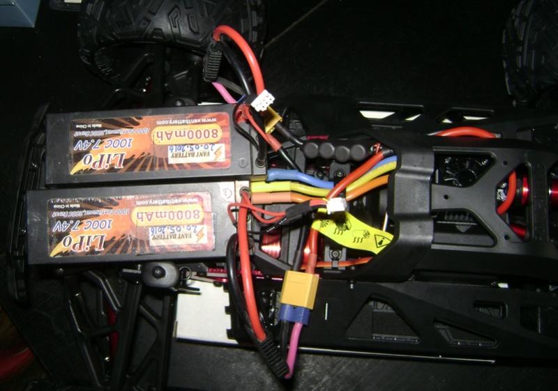 Arrma Monster Truck Nero BLX EDC /  Fazon & Big Rock de Trankilou&Trankilette Tof_2722
