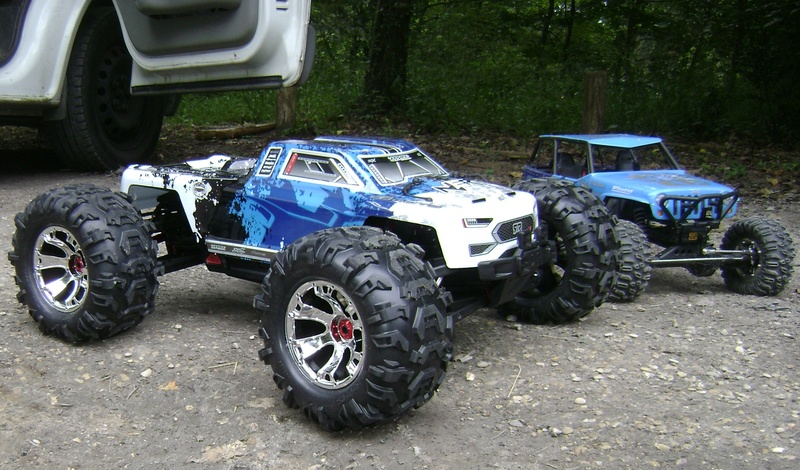 Arrma Monster Truck Nero BLX EDC /  Fazon & Big Rock de Trankilou&Trankilette Tof_3115
