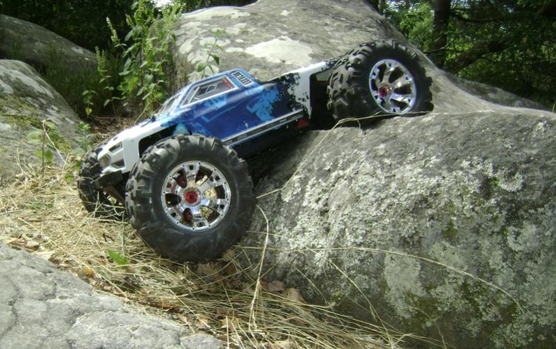Arrma Monster Truck Nero BLX EDC /  Fazon & Big Rock de Trankilou&Trankilette Tof_3116