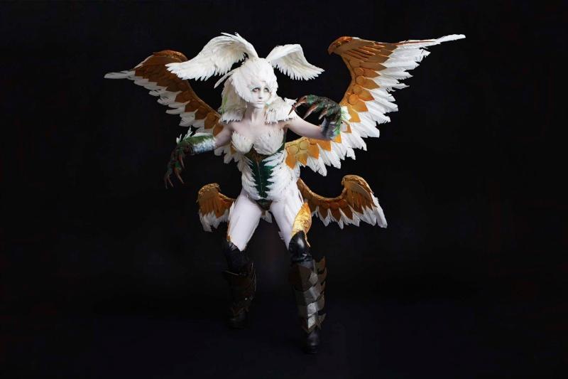 Cosplay FFXIV Garuda10
