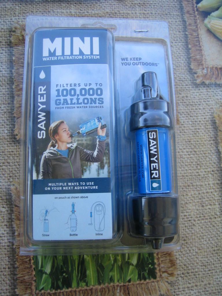 infos pour filtre a eau Mini Sawyer Philtr11