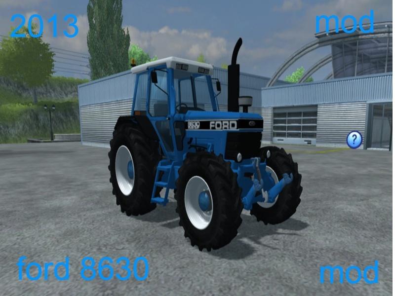Ford 8630 4wd Mod for Farming Simulator 2013 Senza_11